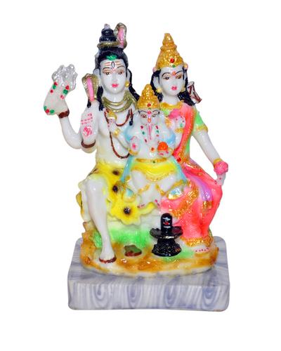 Shiv Family idol