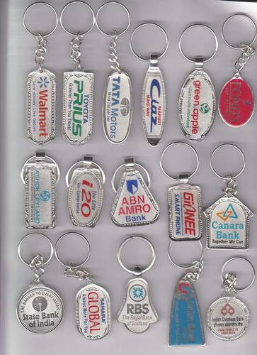 silver printing meena keychain