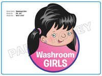 Washroom Girls Cutout