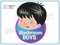 Washroom Boys Cutout