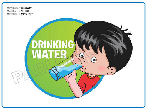 Drinking Water Cutout