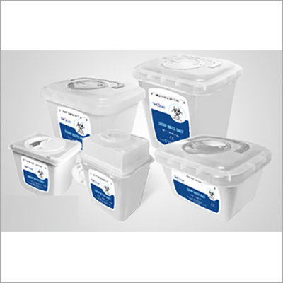 Transparent Sharps Containers