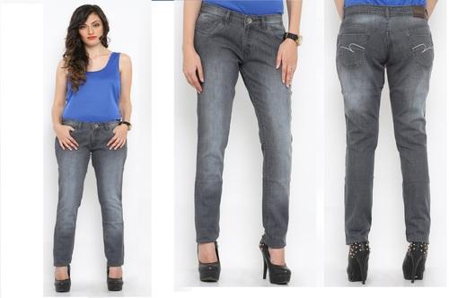 Bedazzle Fit Fit Women's Grey Jeans