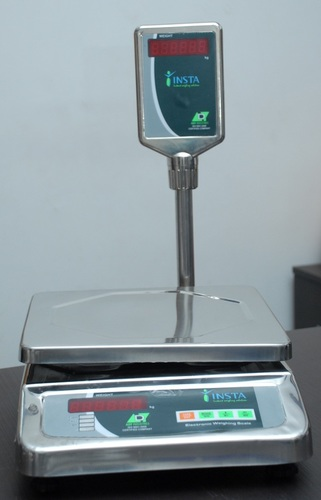 Table Top Weighing Scale for Dairy