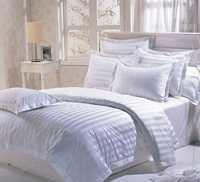 WHITE HOTEL BEDSHEET