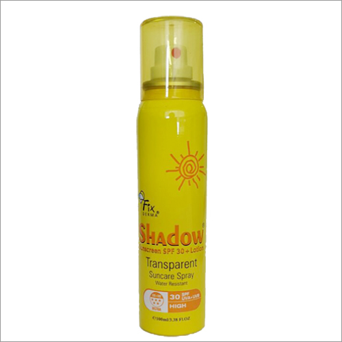 Shadow SPF 30+ Lotion Transparent Suncare Spray