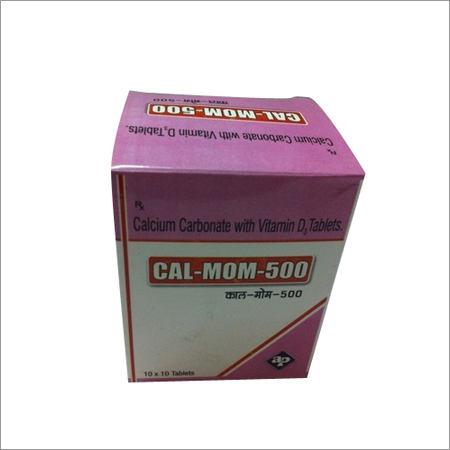 Calcium Carbonate Vitamin D3 Tablets
