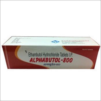 Alphabutol 800 Tablets