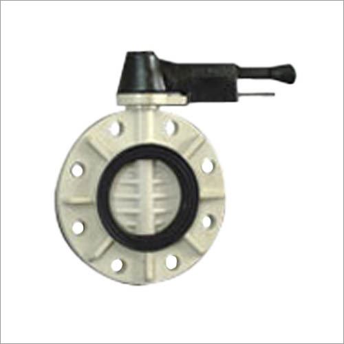 PP BUTTERFLY VALVES WITH FLANGE