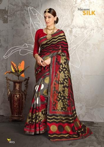 Fancy Latest Traditional Designer Printed Saree
