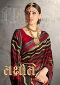 Fancy Latest Traditional Designer Printed Chapa Silk Saree