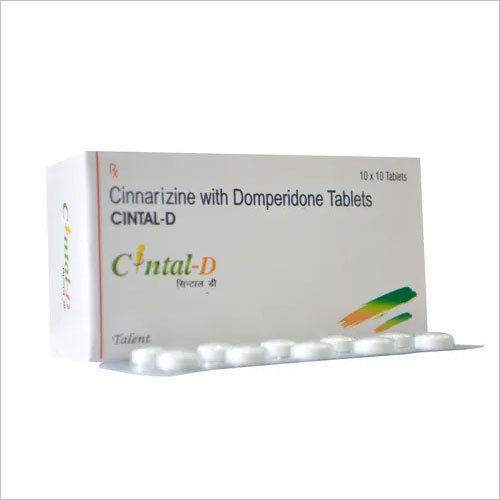 Cinnarizine 20mg+Domperidone 15mg