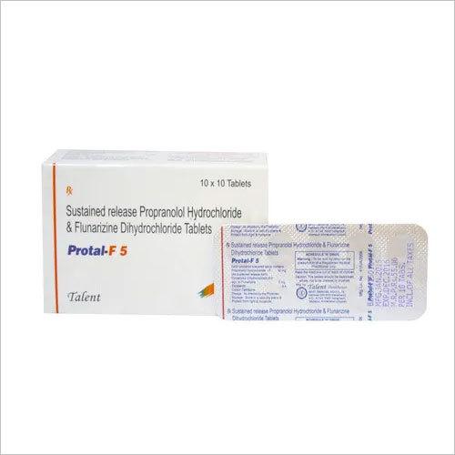 Propranolol HCL 40 mg ( SR ) + Flunarizine DiHCL 5 mg