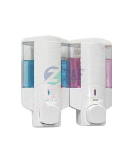 Manual Soap Dispensers Twin 450ml each