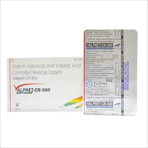 Sodium Valproate 333 mg+Valproic acid 145 mg