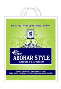 Single & Two Colour Offset Printed Carry Bags