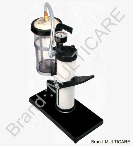 SS Vertical Foot Suction Machine
