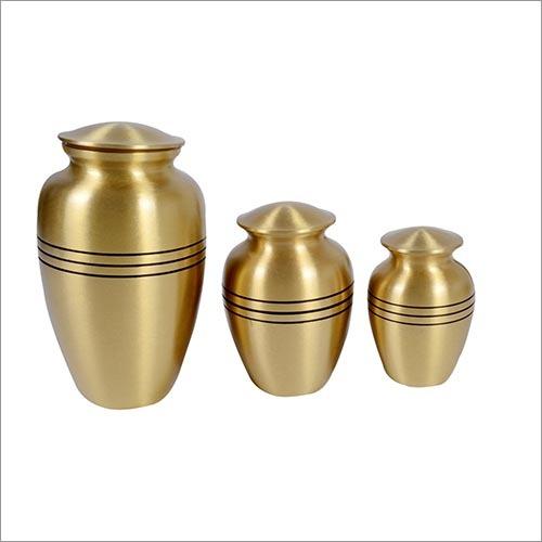 Ribs Brass Urn