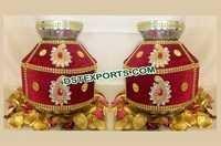 Maroon Gold Wedding Jago