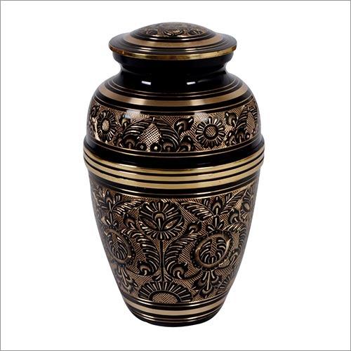 Classic Black Brass Urn