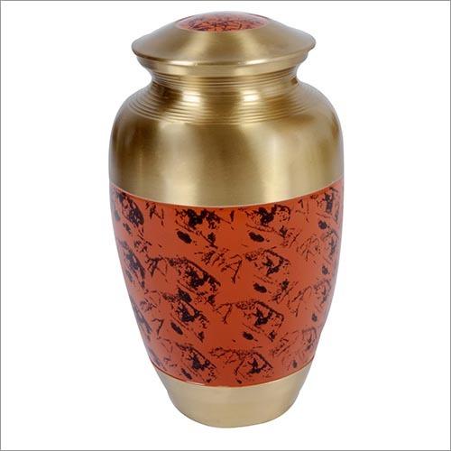 Patina Brass Urn