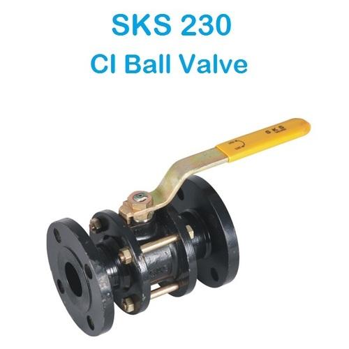 SKS 230 CI Ball Valve