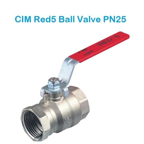 CIM RED5 Ball Valve PN 25