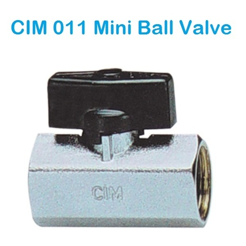 CIM 011 Mini Ball Valve