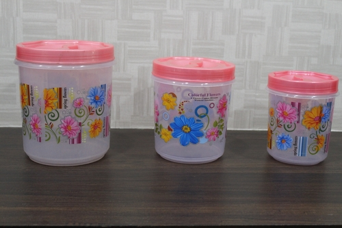 Transparent Food Container Set