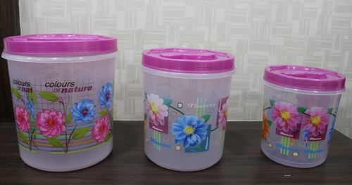 Printed Food Container Set