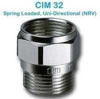 CIM 32 Spring Loaded Uni-Directional (NRV)
