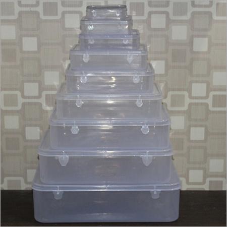 Transparent Square Container Set
