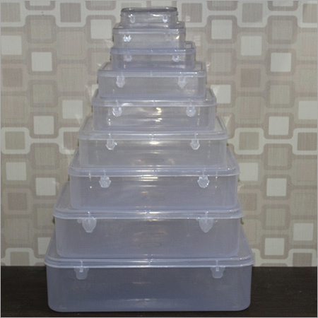Transparent Square Container Set