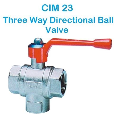CIM 23 Three Way Directional Ball Valve