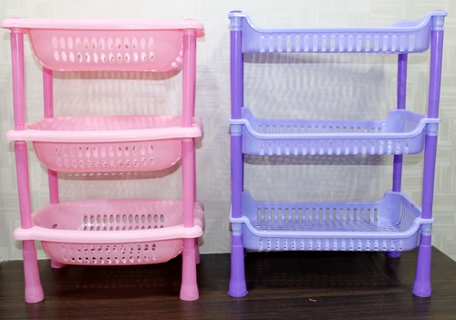 Oval Shaped Multipurpose Plastic Rack