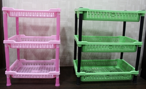 Tier Multipurpose Plastic Rack