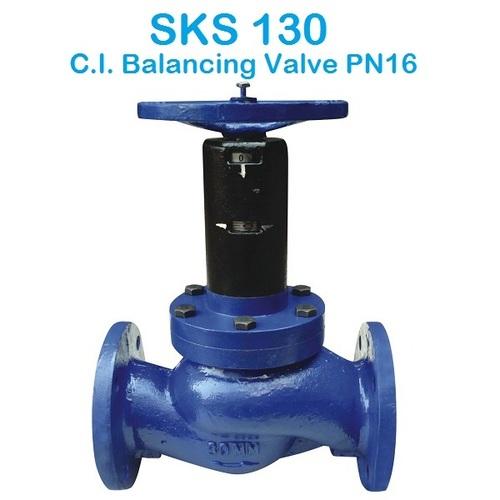 SKS 130 C.I. Balancing Valve PN16