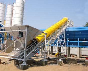 Aggregate Feeding Belt Conveyor