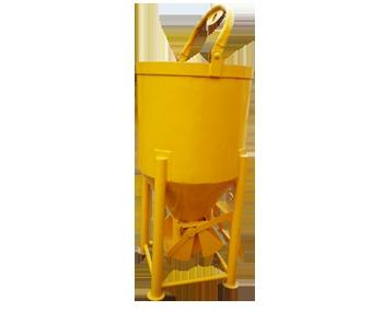 Central discharge Concrete Buckets