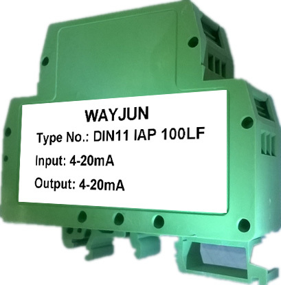 Loop-Powered 4-20mA Signal Isolator DIN35