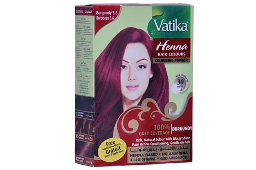 Henna Hair Colour (Burgundy)