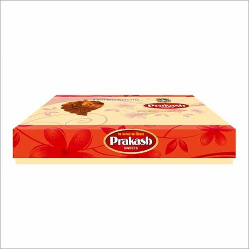 Cardboard Rectangle Sweet Box