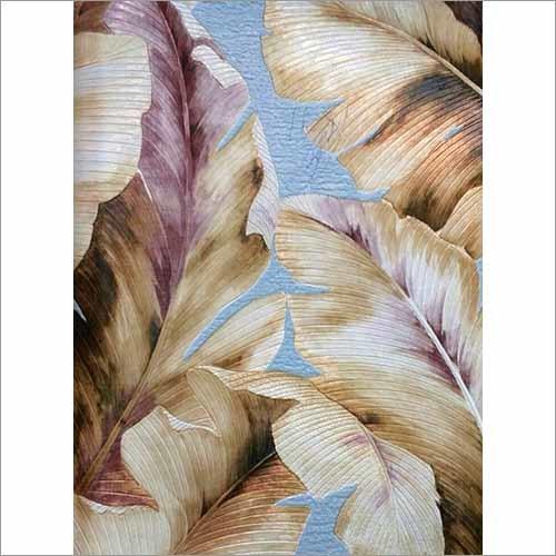 Floral Printed Wallpaper