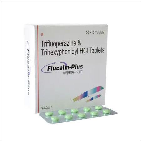 Trifluoperazine 5mg+Trihexyphenidyl 2mg
