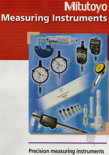 Precision Measuring Instruments-Mitutoyo