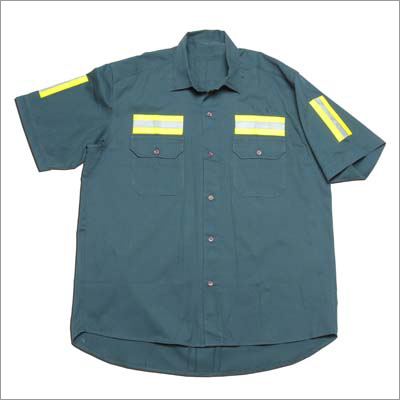 Industrial Half Sleeve Shirt