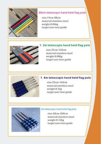 Tour Guide Flag Pole 2