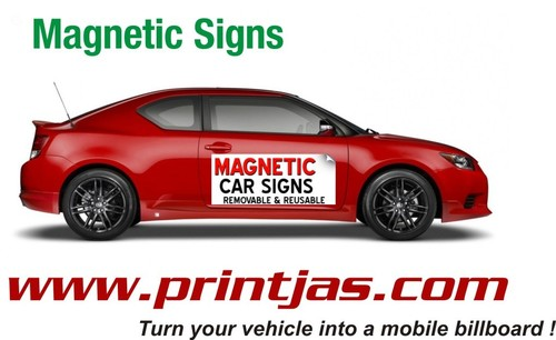 Vehicle Magnets Sign Plates
