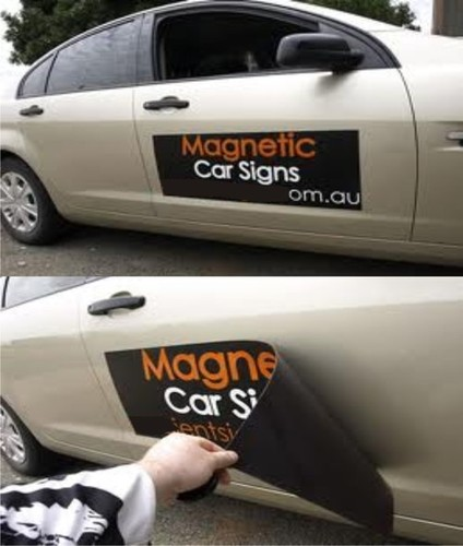 Magnetic Car Stickers