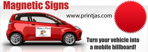 Magnetic Car Signage
